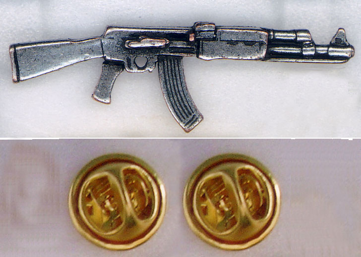 AK-47 Pins & Stickers