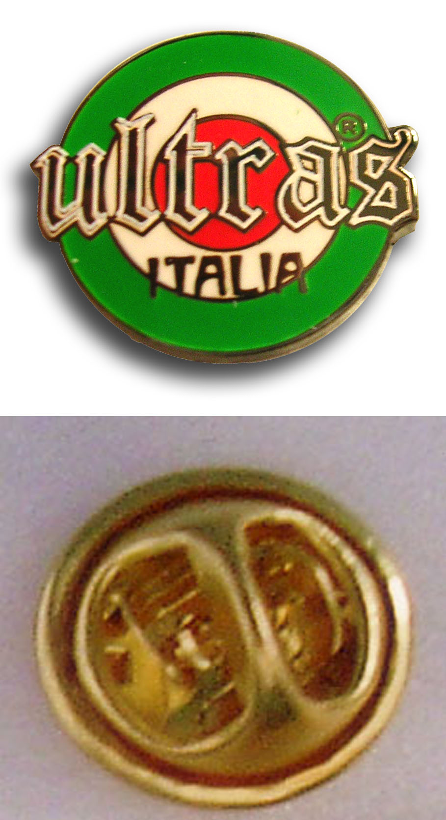 ULTRAS ITALIA Cerchio Pins & Stickers