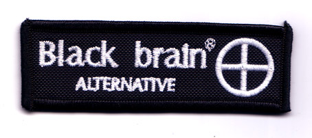 BLACK BRAIN - Cerchio Patches