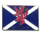SCOTLAND Flag Red Lion Pins & Stickers