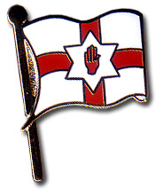 ULSTER FLAG Pins & Stickers