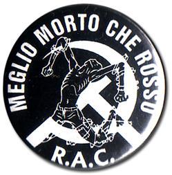 BOTTON MEGLIO MORTO... Pins & Stickers