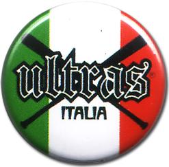 BOTTON ULTRAS ITALIA MAZZE Pins & Stickers