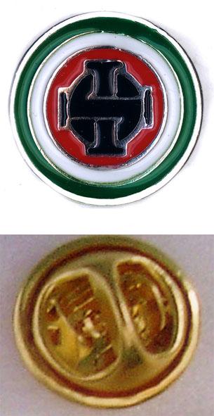 SKINHEADS ITALIA Logo Pins & Stickers