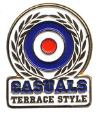 CASUALS Pins & Stickers