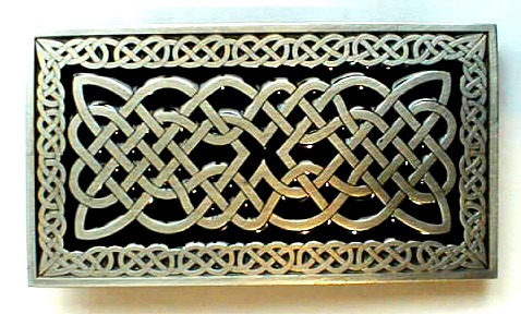 CELTIC RECTANGLE Buckles