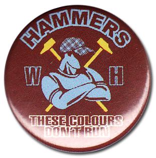 BOTTON HAMMERS Pins & Stickers