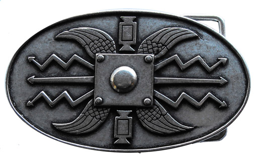 ROMAN SHIELD Buckles