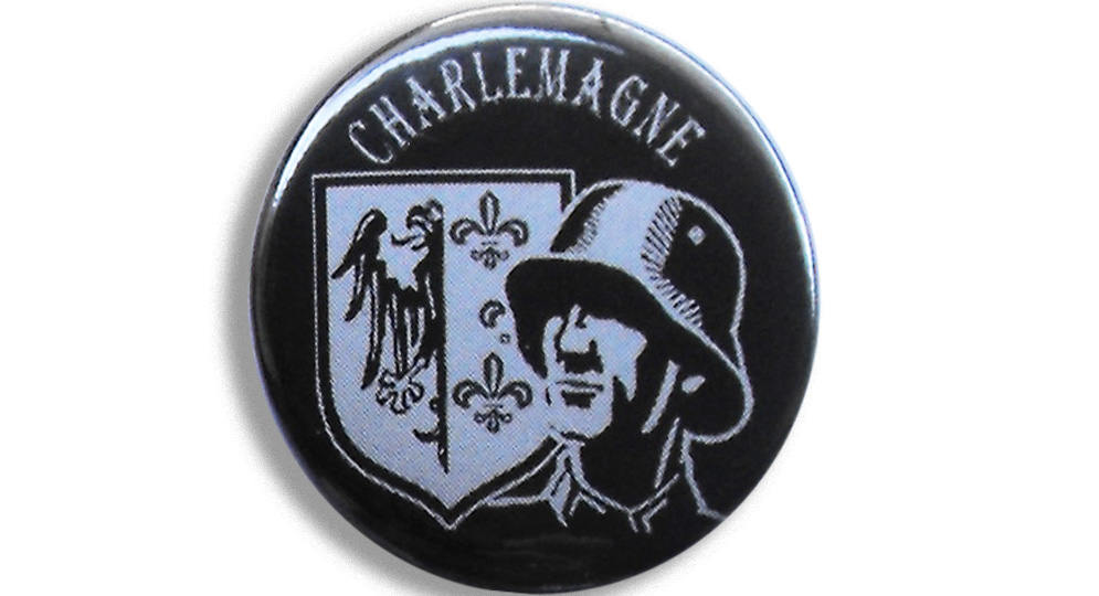 BOTTON CHARLEMAGNE Pins & Stickers