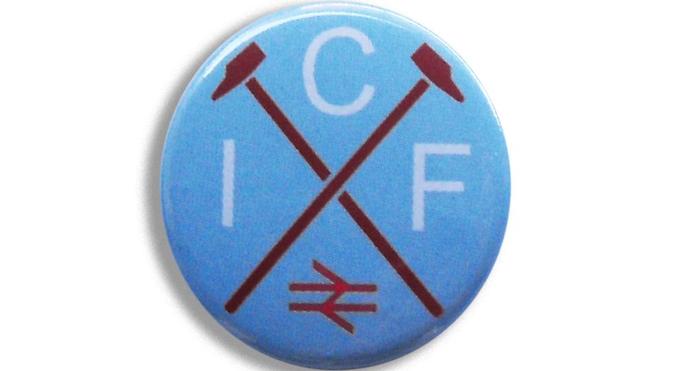BOTTON ICF Pins & Stickers