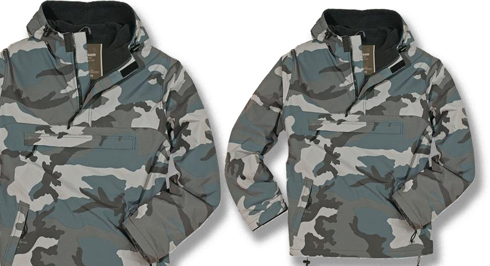 COMBAT ANORAK NIGHT CAMO Jackets