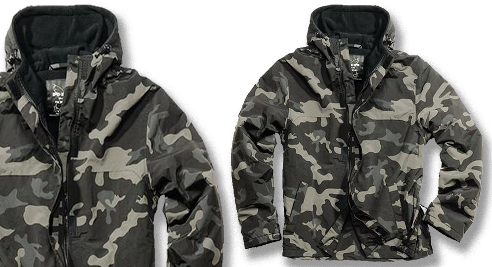 COMBAT ANORAK FULL ZIP Blackcamo Jackets