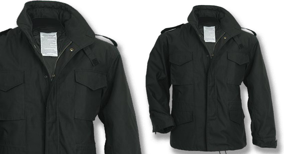 FIELD JACKET BLACK Jackets