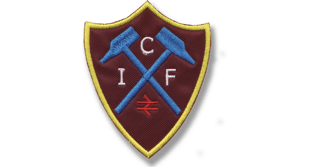 WEST HAM I.C.F. Patches