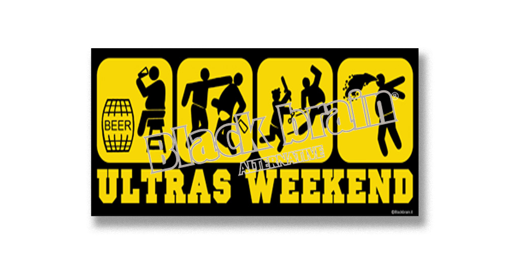 ULTRAS WEEKEND Pins & Stickers