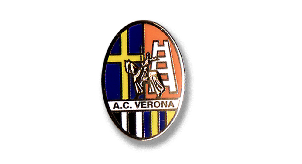 A.C.VERONA '50 Pins & Stickers
