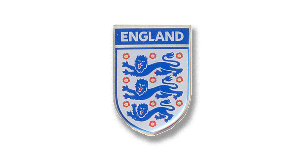 ENGLAND SHIELD Pins & Stickers