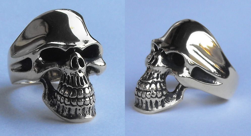 RING SKULL BIG Extras