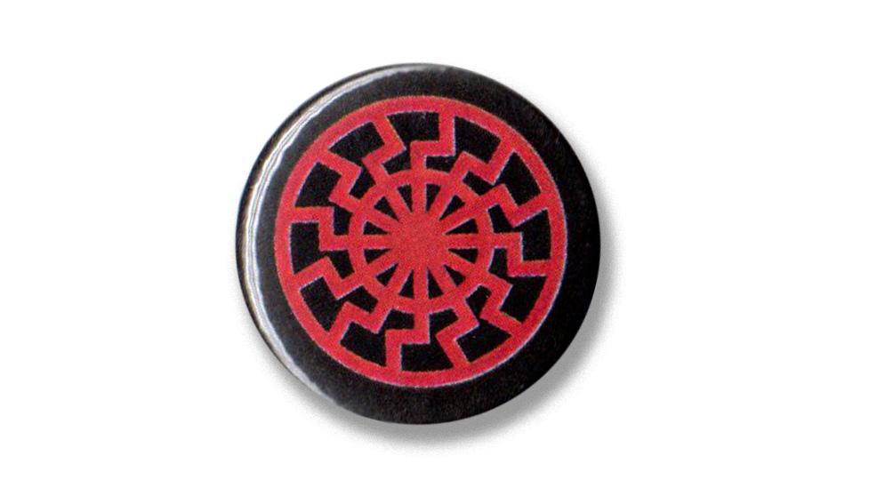 BOTTON SCHWARZE SONNE Pins & Stickers