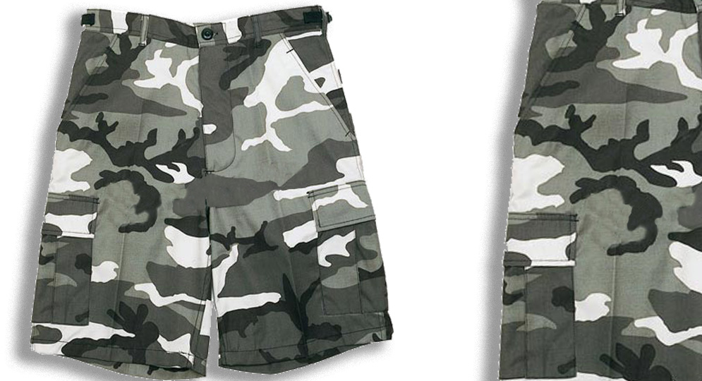 BERMUDA ARMY URBAN Shorts & trousers