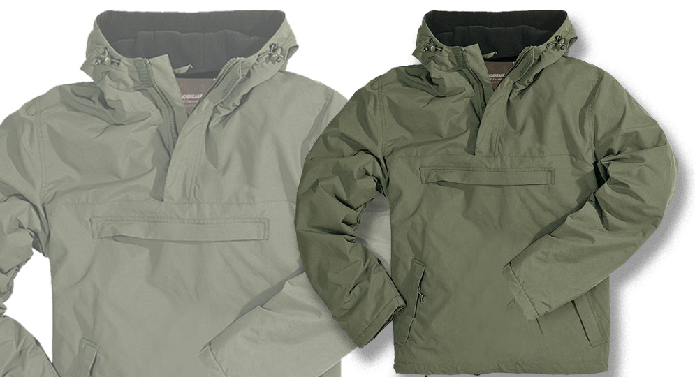 WINDBREAKER OLIVE Jackets