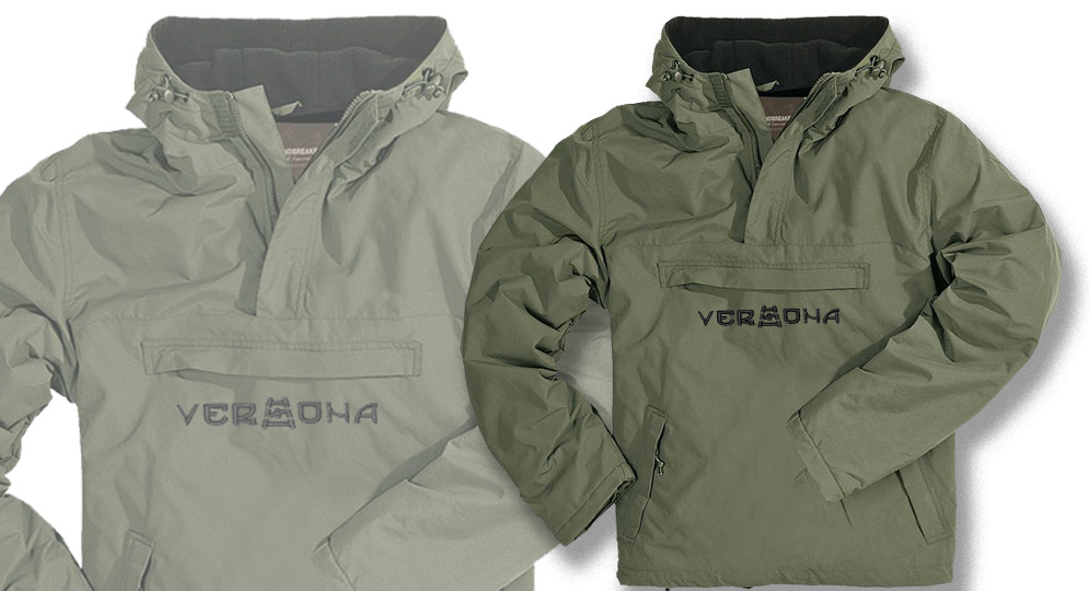 WINDBREAKER VERONA OLIVE Jackets