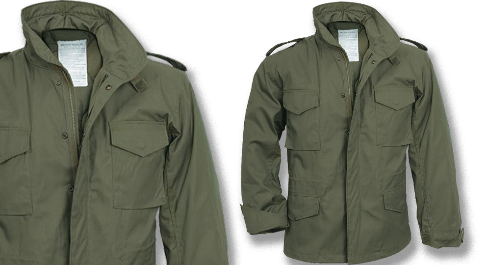 FIELD JACKET OLIVE Jackets
