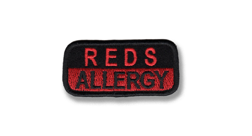 REDS ALLERGY Patches