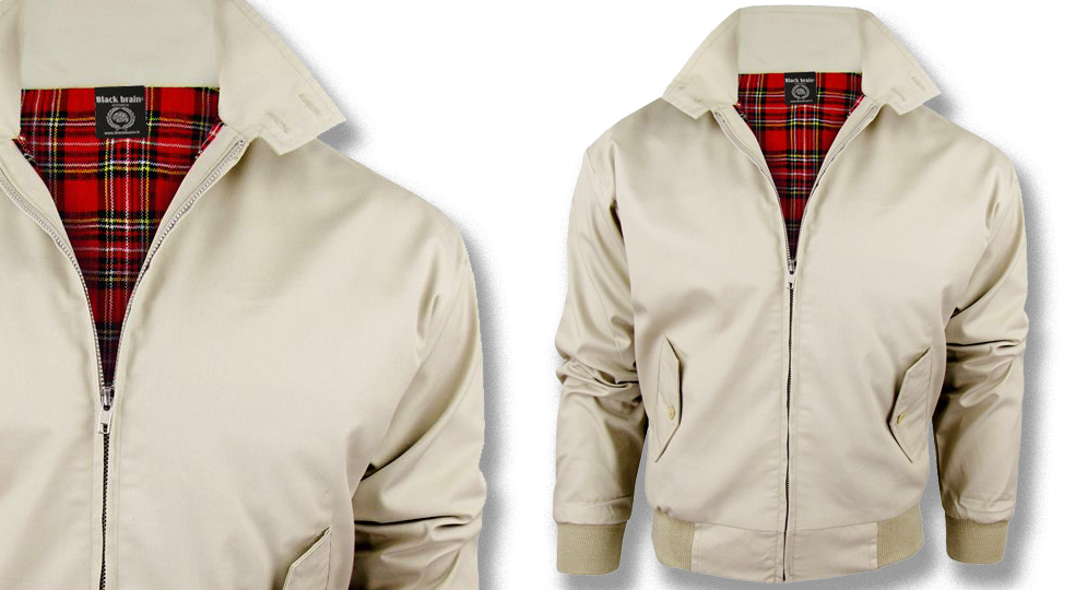HARRINGTON JACKET BEIGE Jackets