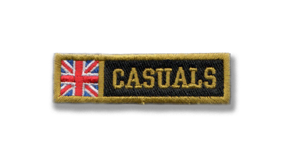 CASUALS UK Patches