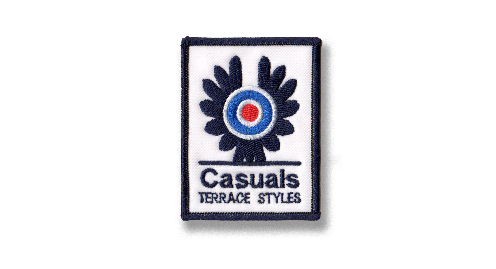 CASUALS WINGS Patches