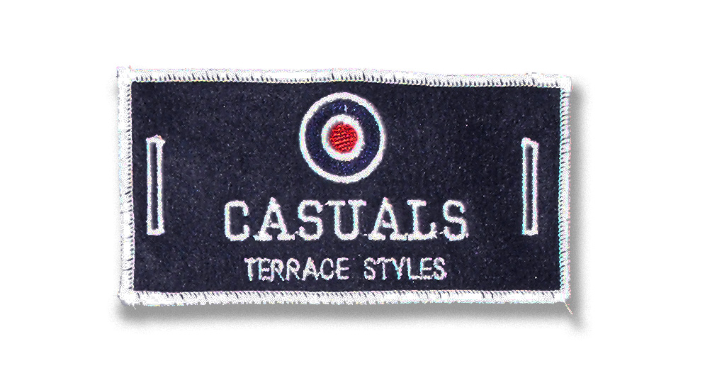 CASUALS LABEL FOR BUTTONS Patches