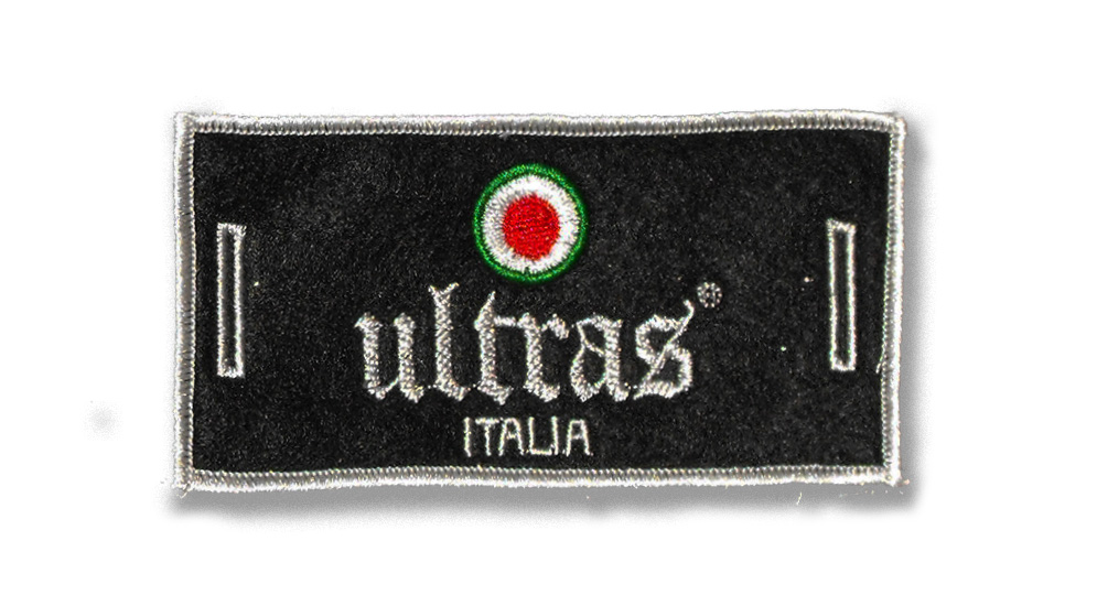 ULTRAS ITALIA LABEL FOR BUTTONS Patches