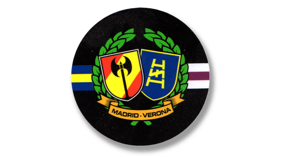 MADRID - VERONA Pins & Stickers
