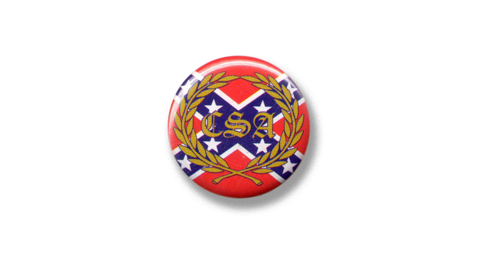 BOTTON CONFEDERATE Pins & Stickers