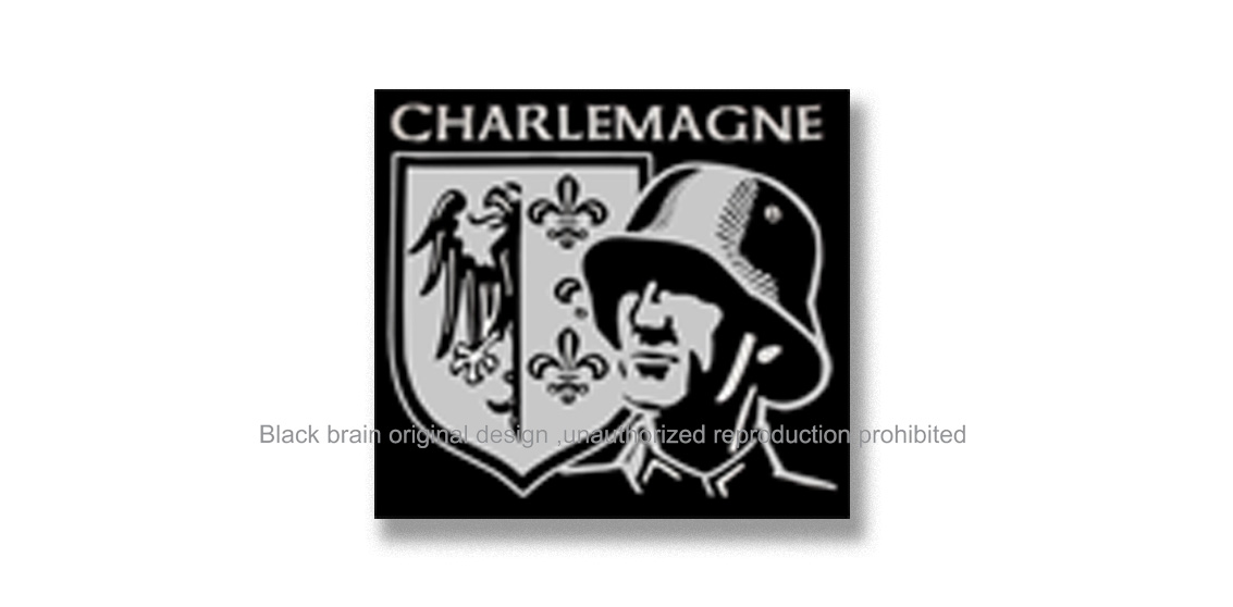 CHARLEMAGNE Pins & Stickers