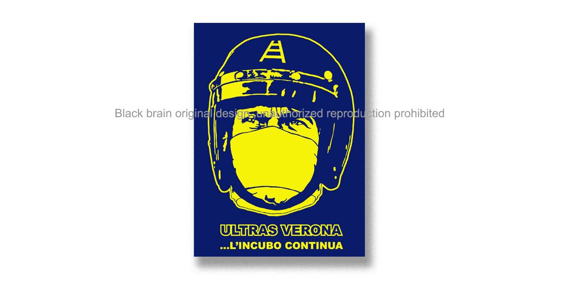 ULTRAS VERONA L'INCUBO CONTINUA Pins & Stickers