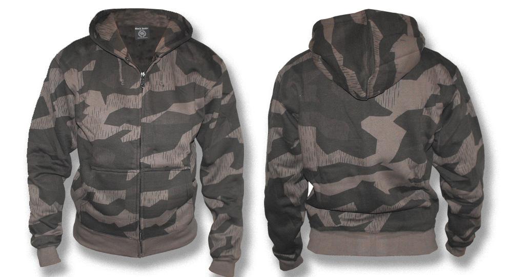 HOODY ZIP BLACKCAMO Sweaters & Hoodies