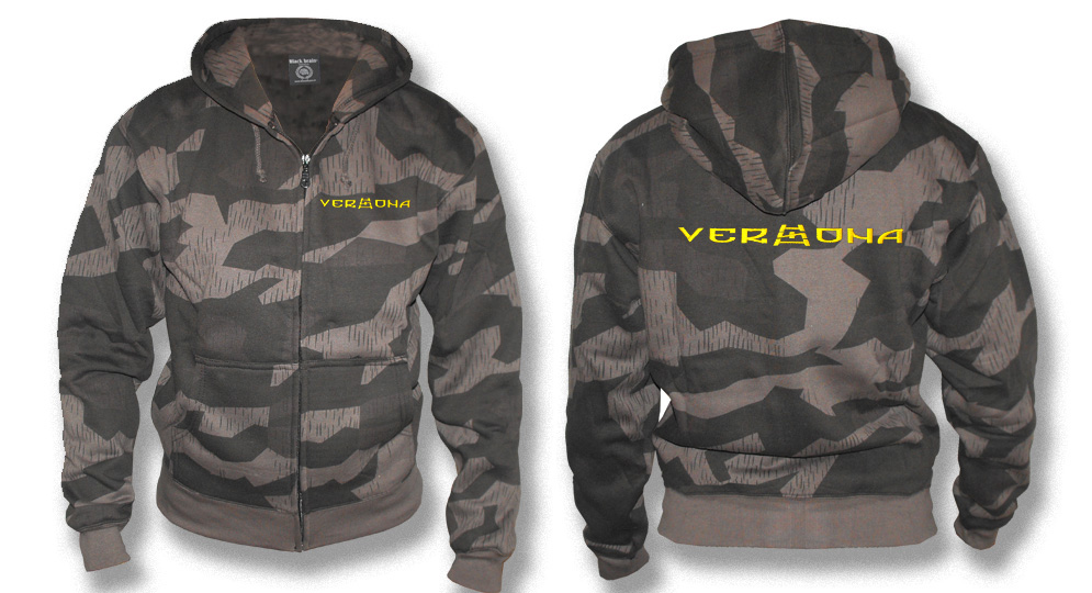 VERONA BLACK CAMO Sweaters & Hoodies