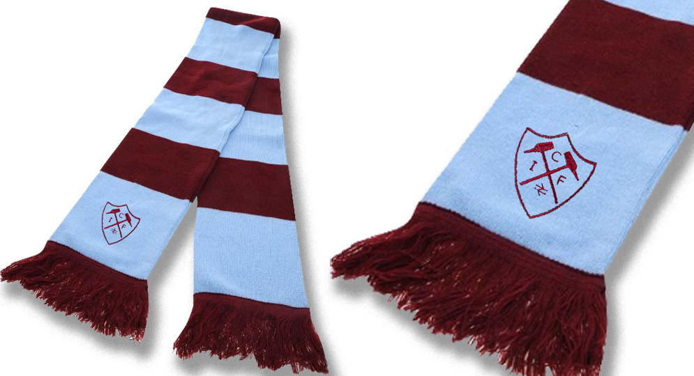 OLD SCHOOL ICF Scarves
