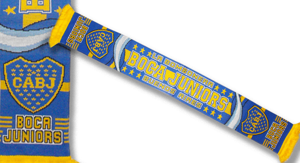 BOCA JUNIORS Scarves