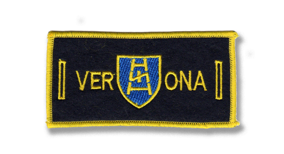VERONA LABEL FOR BUTTONS Patches