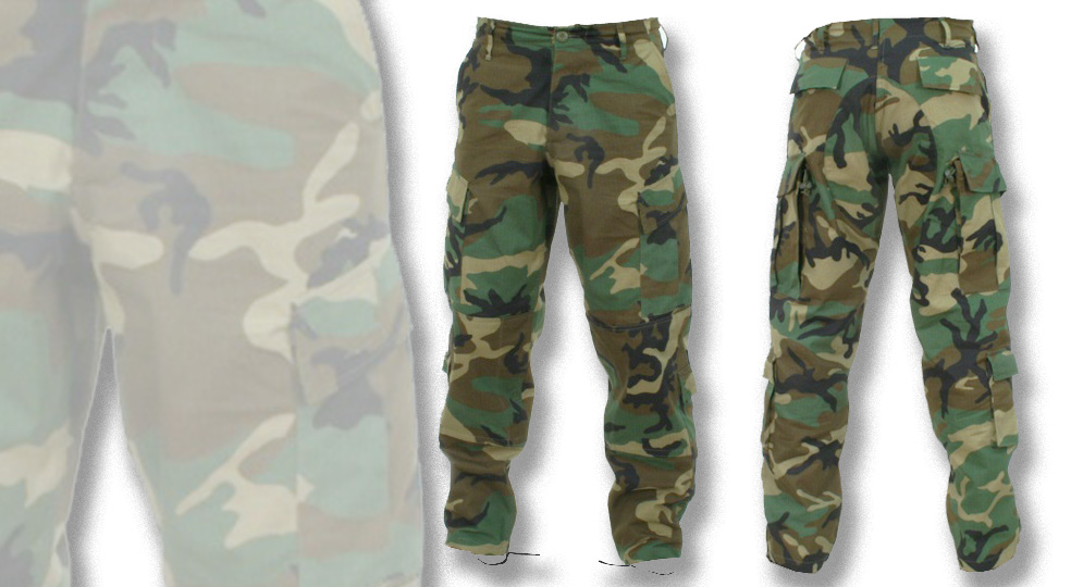 TROUSERS WOODLAND