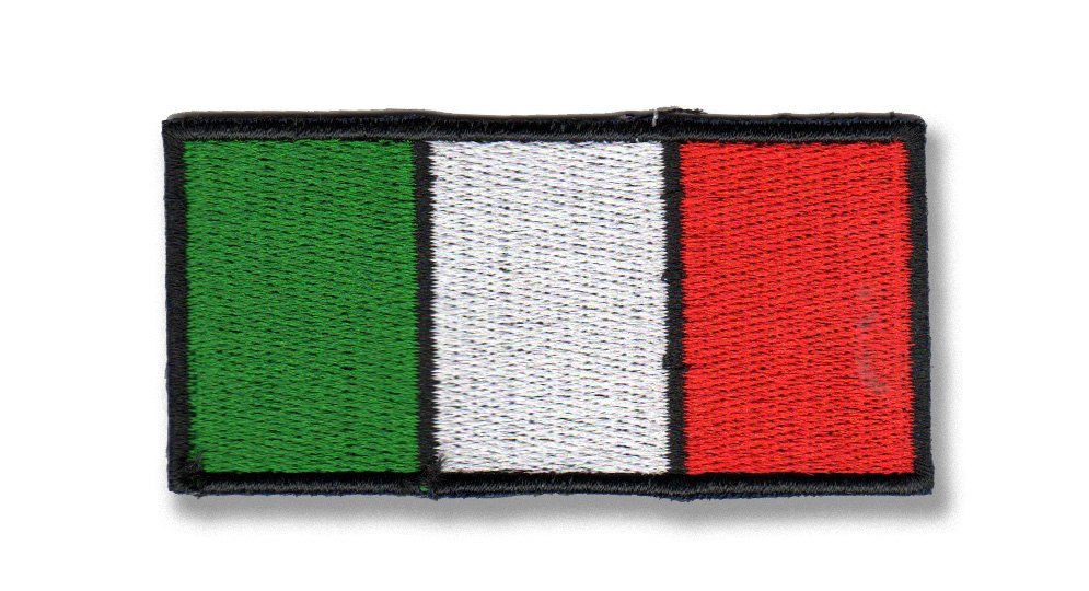 BANDIERA ITALIA Patches