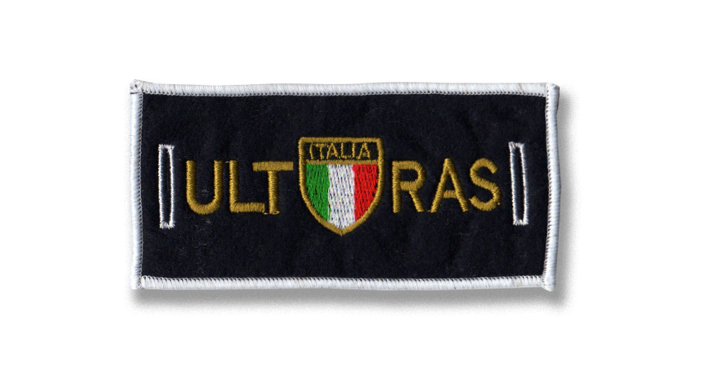 ULTRAS ITALIA SCUDO LABEL FOR BUTTONS Patches