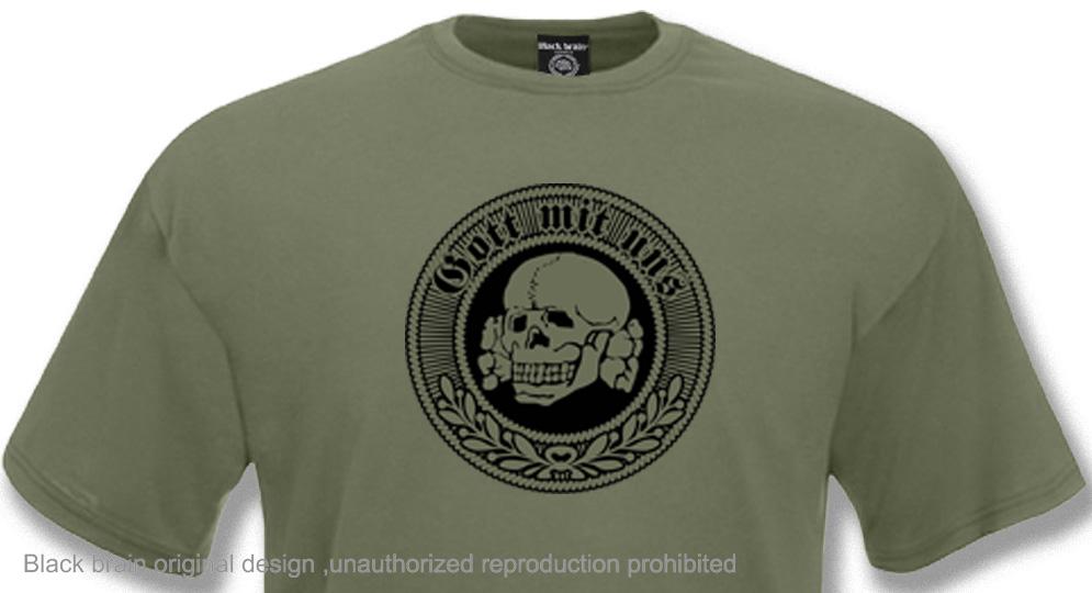 GOTT MIT UNS TOTENKOPF T-shirts