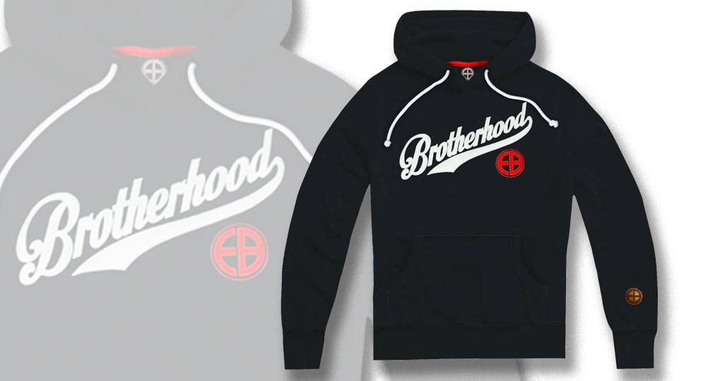 HOODY BROTHERHOOD BLACK European Brotherhood
