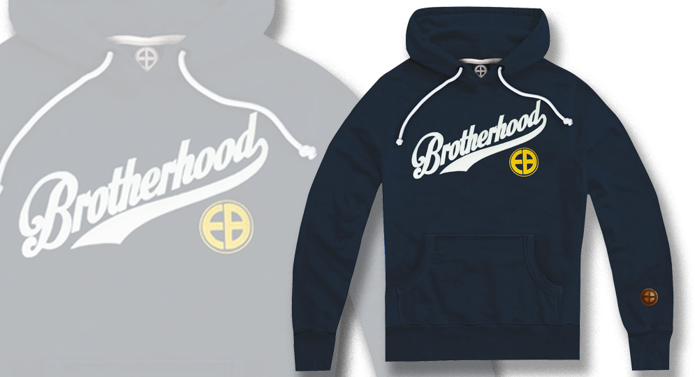 HOODY BROTHERHOOD BLUE European Brotherhood