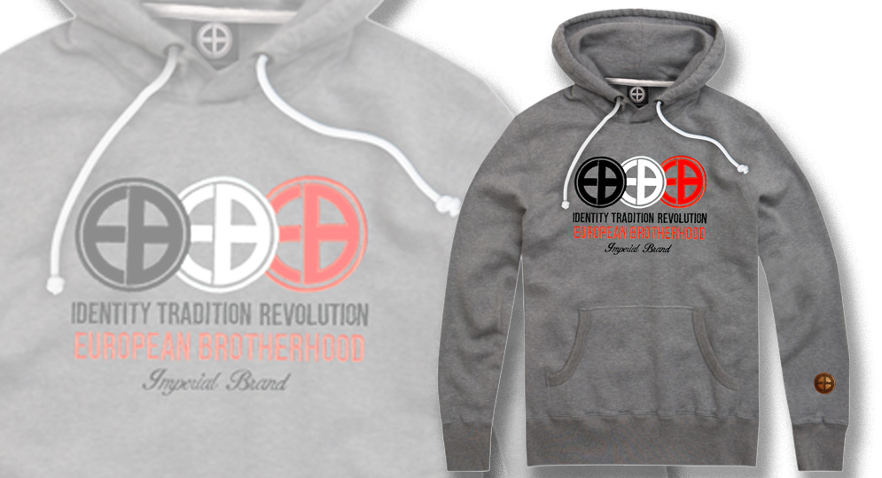 HOODY IDENTITY TRADITION REVOLUTION European Brotherhood