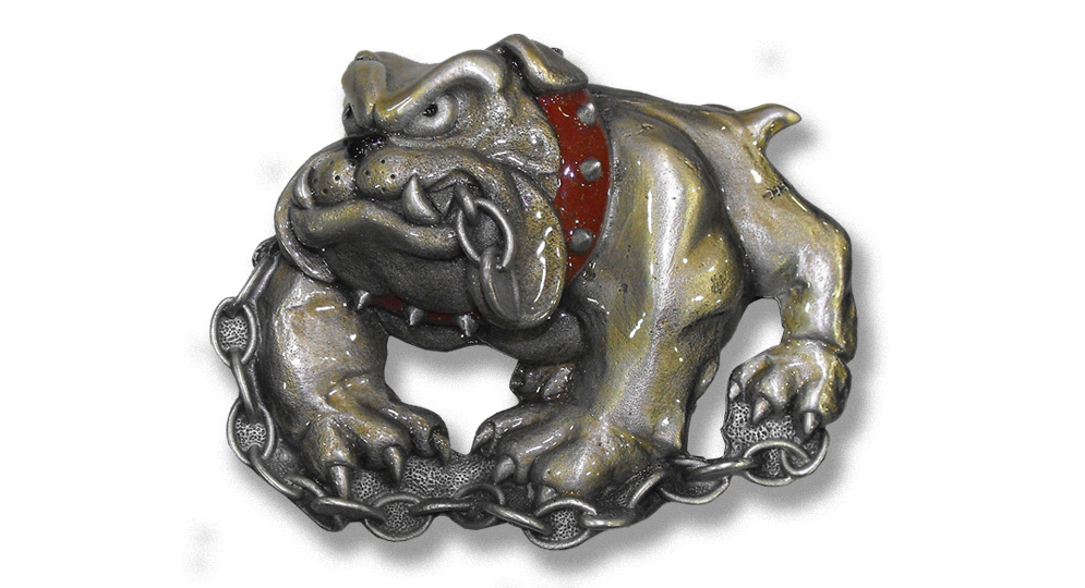 BULLDOG With CHAIN Buckles